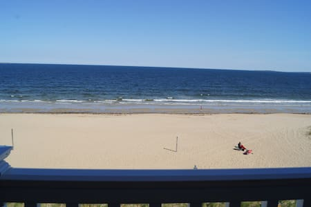 ocean front condo with sandy beach - 올드 오차드 비치(Old Orchard Beach) - 아파트