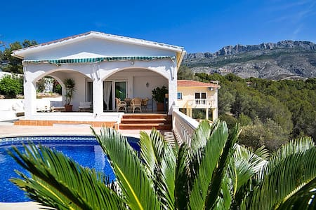 Altea Villa seaview, Pets Allowed - Xalet