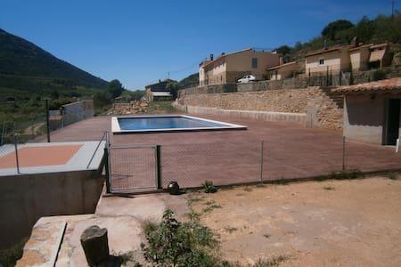 Casa Rural con encanto  y piscina - Haus