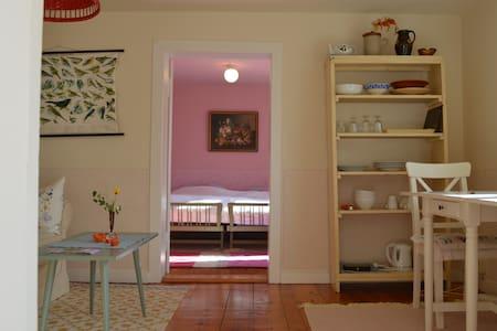 Süße 2 Zimmer-Wohnung 38qm ländlich - Lägenhet