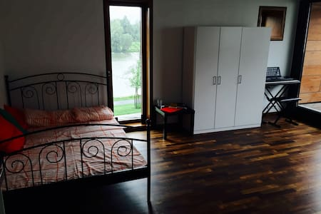 Central Room with Aasee view - Münster - Apartment
