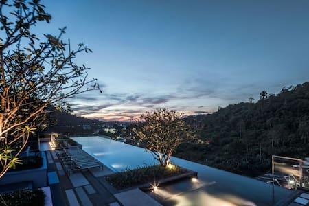 Phuket City Condominium - Seaview Swimming Pool - Phuket - Lyxvåning