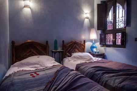 Chambre Lilas -- Riad Mounlight