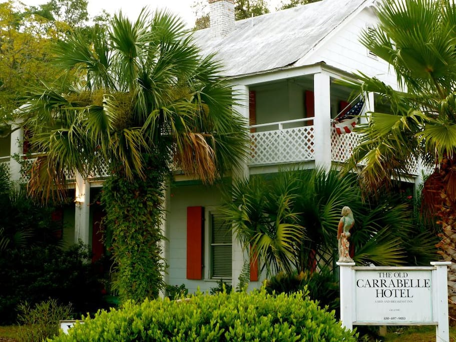 The Old Carrabelle Hotel - Key West style on The Forgotten Coast