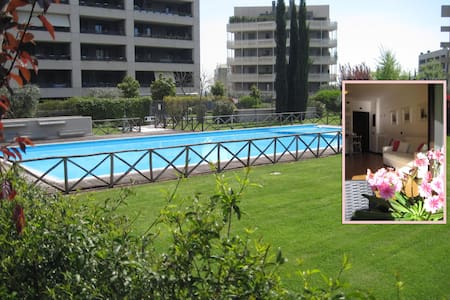 Sunny Garden Flat with Pool in Rome - Roma