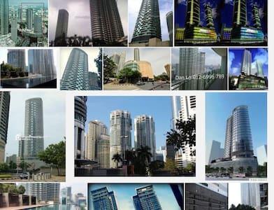 Klcc-condo, LRT station - 吉隆坡 - Appartement