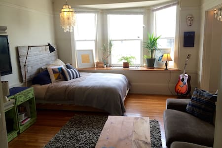 Perfect apartment in the heart of the Mission - Huoneisto