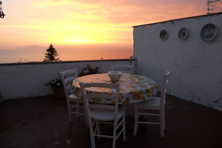 Il Gelsomino - relax and panoramic view - Massa Lubrense - House