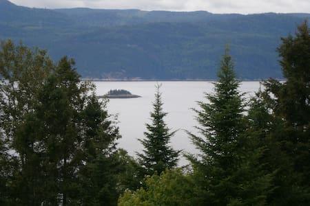 Panoramique du Fjord - L'Anse-Saint-Jean