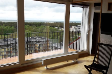 Highest place in Palanga with view to the sea - Apartment