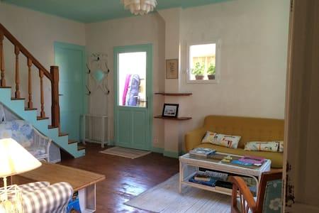 La Villa Tamaris chambre menthe à l'eau 2 lits - Vieux-Boucau-les-Bains - Ev
