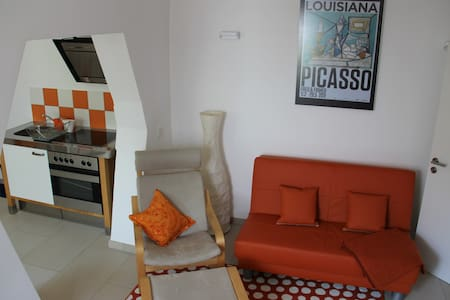 Modern maisonette apartment terrace - Talo