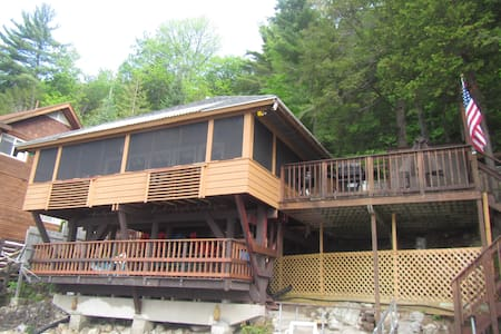 Amazing lake front Summer home. - Schroon Lake - Casa