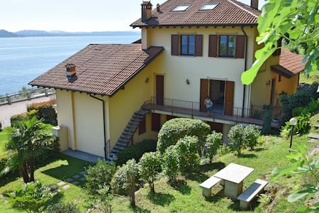 Wonderful apartment with a breath-taking view. - Stresa - Lägenhet