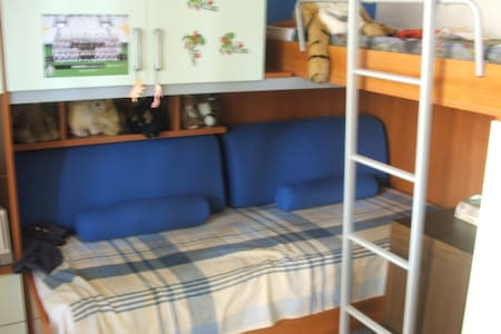 2 posti letto,bagno indipendente - Mappano - Lägenhet