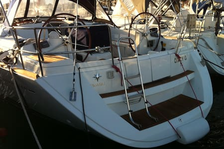Comfortable sailboat in downtown - Sainte-Maxime - Barco