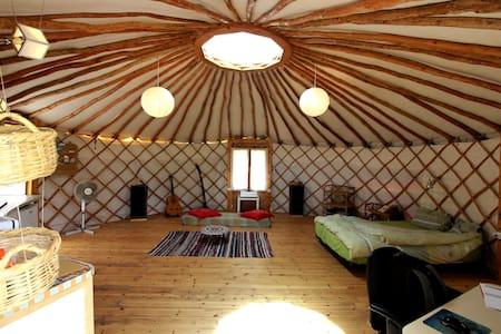 Yurt - a unique home in nature