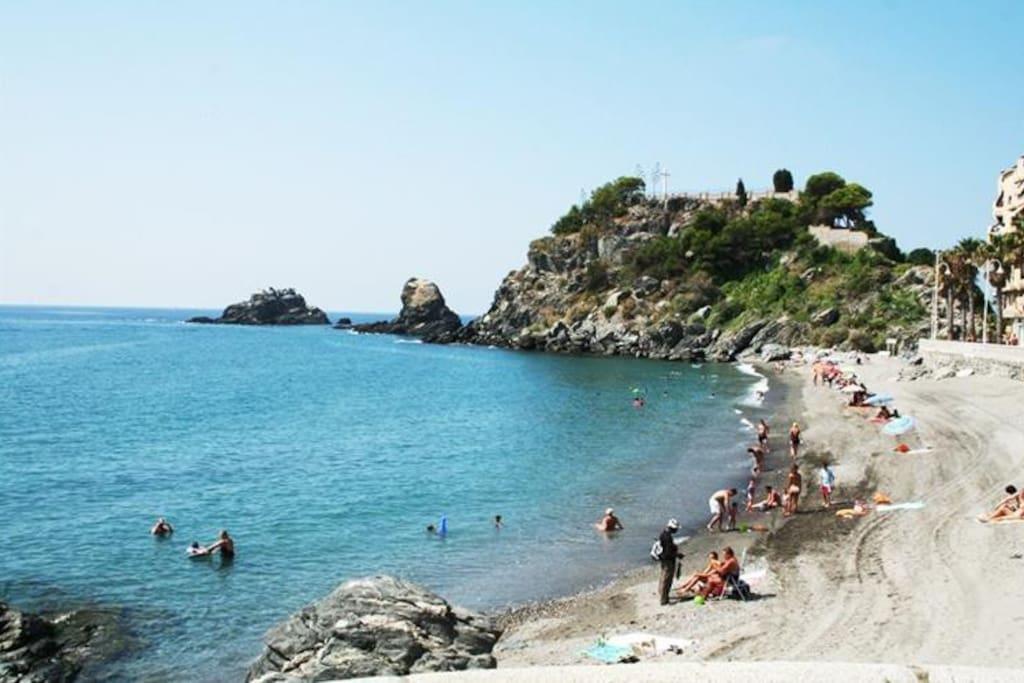 Strand Almunecar.