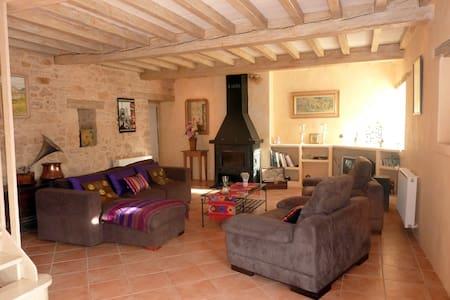 Grande maison 5min château beynac - Rumah