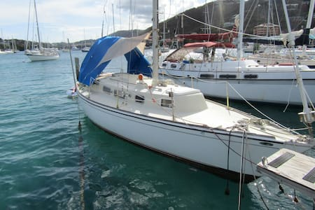 Stay on a 30' Sailboat in Paradise! - St. Thomas US  Virgin Islands - Barca