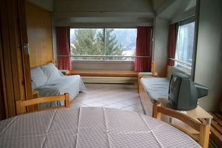 Flat on ski slopes with panorama - Apartment