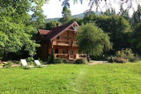 Вилла Ясна -деревянное шале в горах - Villa