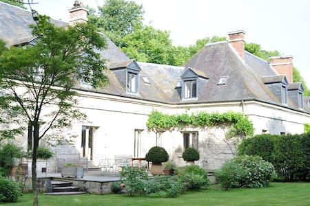 Manoir Les Ecuries - Proche Paris - Ognon - Huis