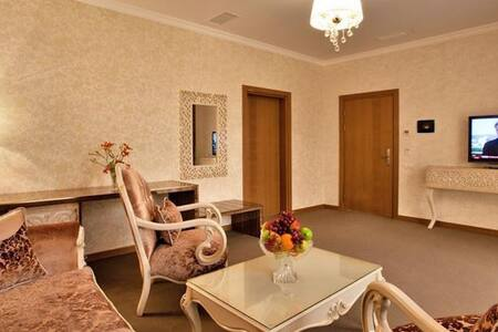 Your journey starts with Paradise Suite room - Baku