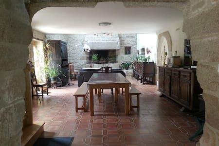 Charming 4* Breton stone house, 174 m² - Dom
