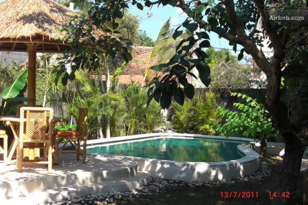 Set in lush tropical gardens the Villa is a haven of peace and tranquility