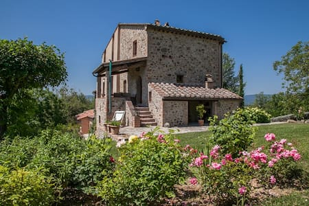 Very Private Country House w. Pool - Città della Pieve - Villa