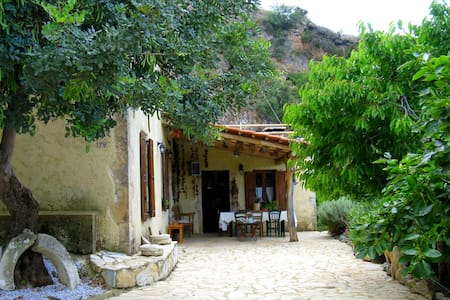 Historic cretan mansion'Kruonerida' - Haus