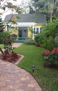 -Eco Smart: cork floors, instant hot H2O, solar lighting, copper sink, antiques, refurbished architecture, charming!  The cottage is located at the back side of the lakefront property still with a view of the lake.     Includes welcome Ghana basket, wine, energy efficient guidebook and 2 FREE tickets to opening night production