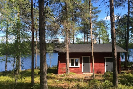 Lakeside cottage with a sauna - Kuusamo - Sommerhus/hytte