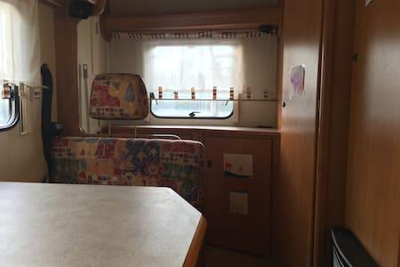 Das Wohnmobil am Bodenseeradweg - Steckborn - Camper/RV