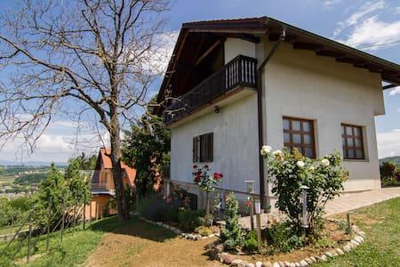 Idyllisches Haus mit Blick ins Tal - House