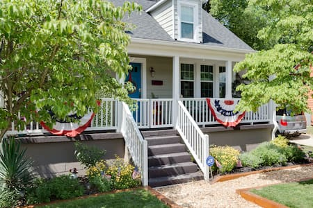 Cozy Cottage in downtown Raleigh - Raleigh - Haus