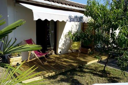 Studio indépendant dans jardin - Rumah