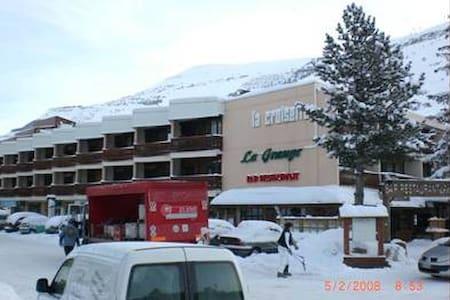 Au centre de la station des 2 Alpes - Mont-de-Lans