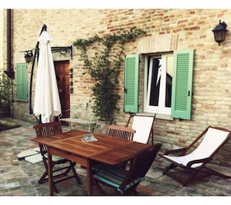Cute house hills & sea in Marche - Talamello - Huoneisto