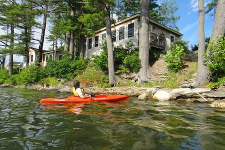 Davis Island Waterfront Retreat - Edgecomb - Hytte