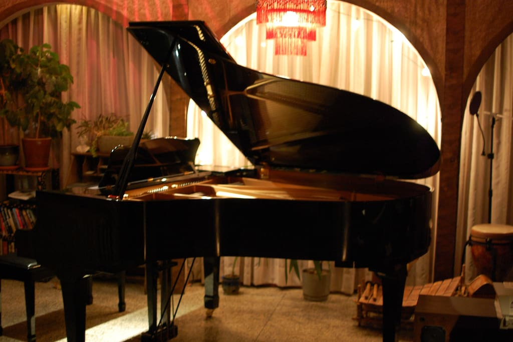 Grand inspiration for pianists
