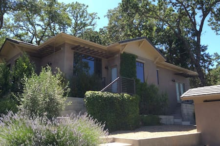 Contemporary 1BR wine country home - Calistoga - Hus