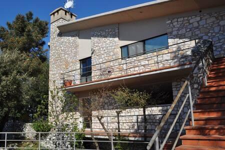 Villa in natura a mezz'ora dal mare - Bergiola - Villa