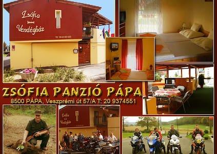 ZSÓFIA GUESTHOUSE H-PÁPA, room - Papa