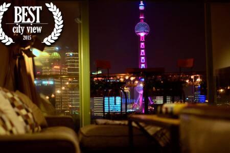[ #1 ]Romantic Skyline bund view - Shanghai - Apartment