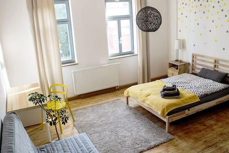 Sonniges Gästezimmer mit Bad - Apartment