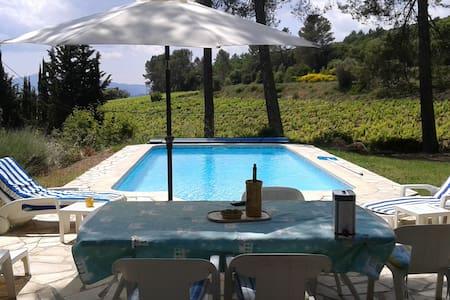 Maison provençale avec piscine - Vidauban