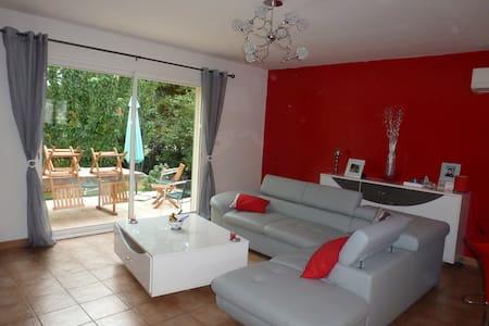 Recent house in a quiet near Alès - House