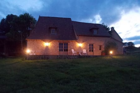Renovated farmhouse in the country.